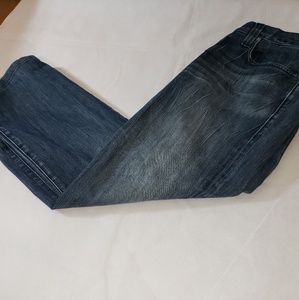 rock  and republic bootcut button fly jeans